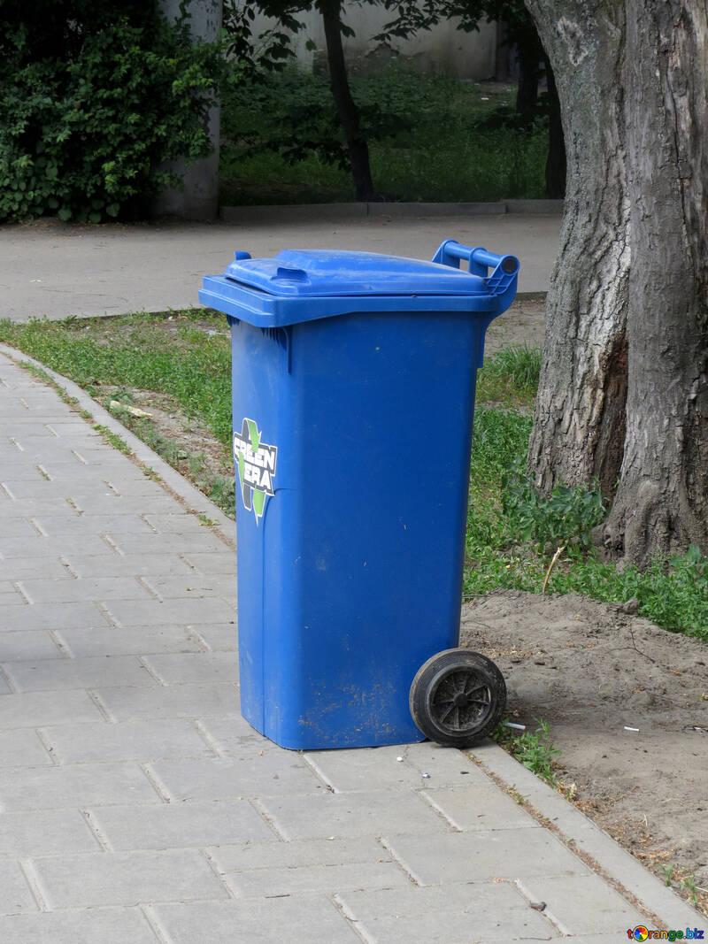 Trash can wheelie bin №52252