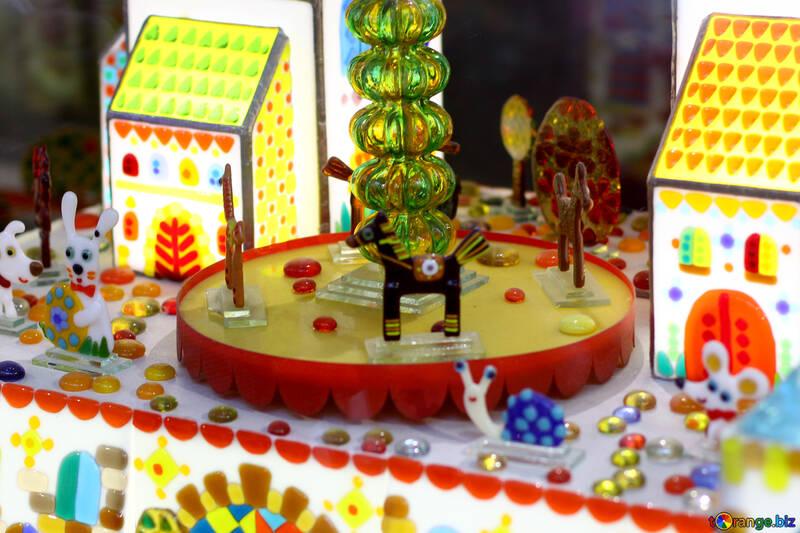 Süßigkeiten Dorf №52010