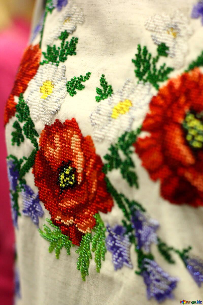 shirt flowers floral №52807