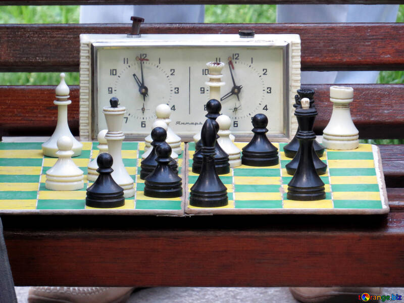 A good chess game chessboard set №52294