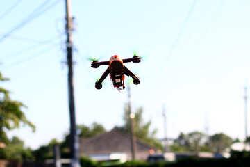 a drone flyin №53689