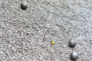 gray carpet and balls of some sort №53981