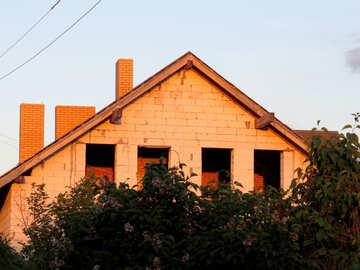 A building made of bricks House №53476