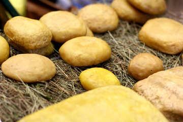 Natural food cheese №53072
