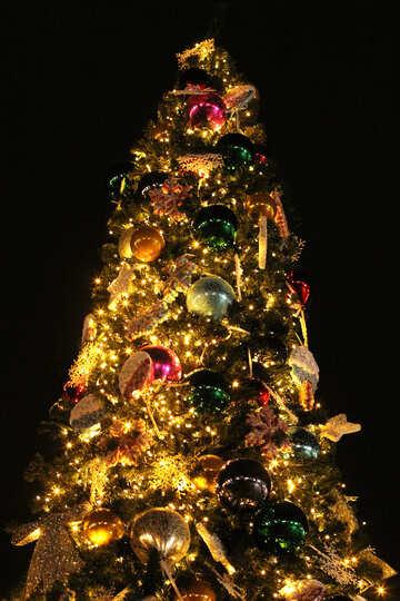 Beautiful  Christmas Tree №53619