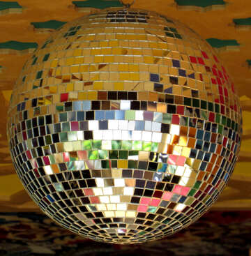 Disco ball lamp