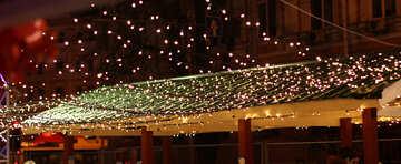 lights rain lamp beautiful night roof №53488