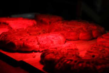 Hamburger rosso tortino camera oscura oscura Prodotti da forno №53575