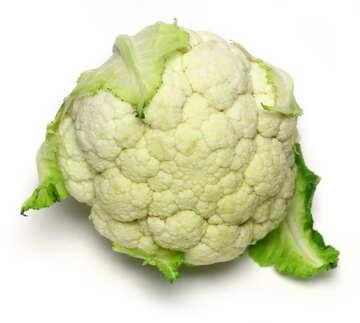 white green cauliflower cabbage №53627