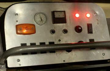 machine control panel №53604
