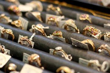 rings on display №53005
