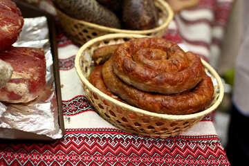 Sausage in a basket №53028