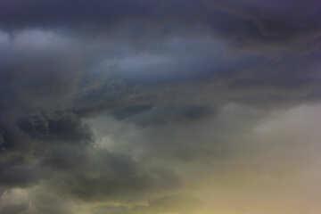 Stormy Sky Clouds №53253