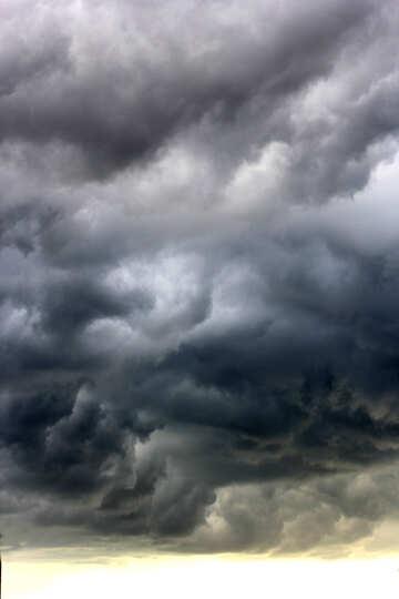 Stürmische bewölkte Wolken stürmen №53243