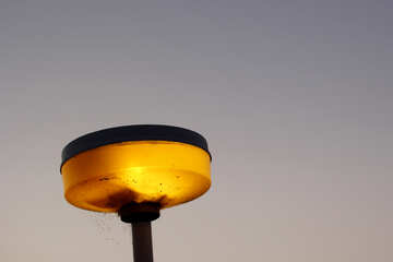 A street light pole lamp №53225