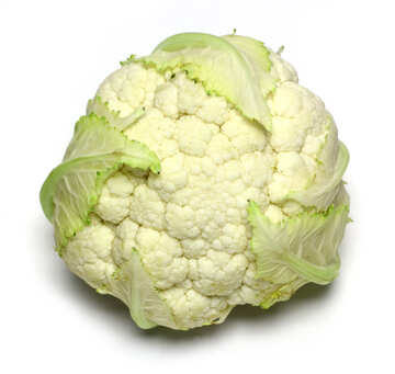 Cauliflower on white background №53624