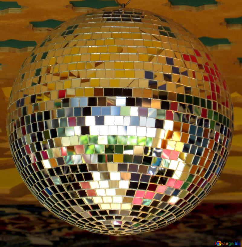 Disco ball lamp №53395