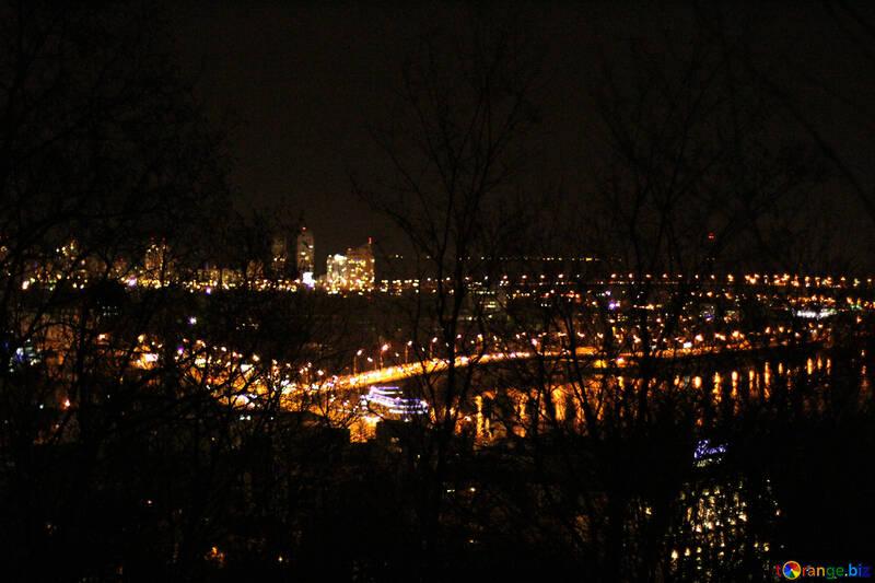 Lichter bei Nacht Stadtansicht Nachtlichter Stadt №53593