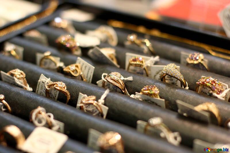 Metal Rings Jewelry box №53006