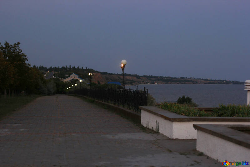 street near  sea №53224