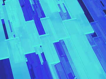 Cuadros abstractos 3d creativos líneas fondo moderno №54510