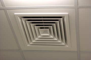 Ventilation ceiling molding room floor building №54521