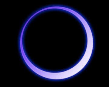 Neon glow circle №54935