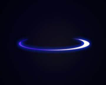 Neon glow ring №54930