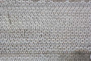 white wall bricks №54138