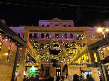 Fancy christmas Hotel building №54102