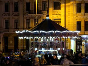 a merry go round carousel №54118