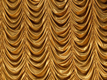curtain gold texture №54038