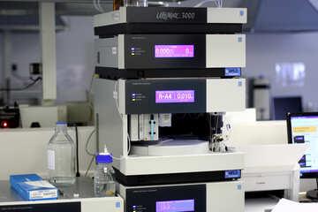 Lab equipment something machine monitor printer office №54636