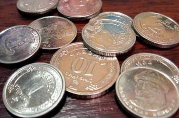 Iron coins Ukrainian money №54891