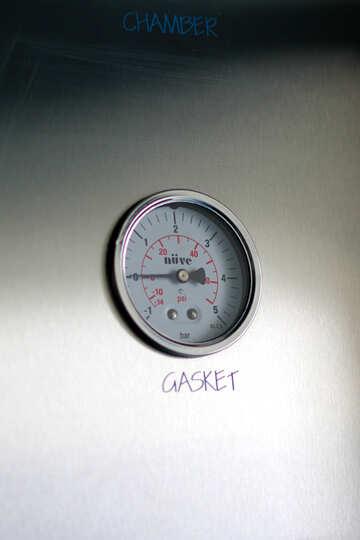 Measuring instrument air monitor large mounted №54552