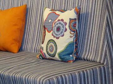 pillow sofa №54021