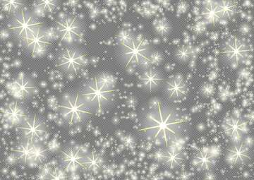 holiday background with clusters of bright huge white twinkling stars  night star pattern №54496