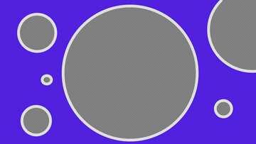 Blue design hole Youtube thumbnail transparent background №54804