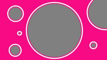 Pink art Youtube thumbnail transparent background №54803
