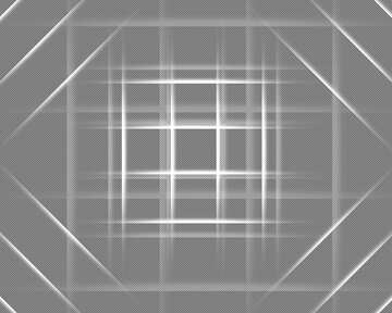 White lines geometrical pattern №54748