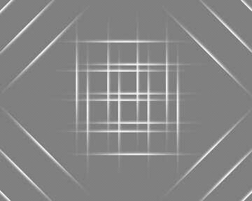 White lines geometrical pattern №54750