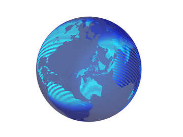 Modern global world earth concept planet symbol №54514