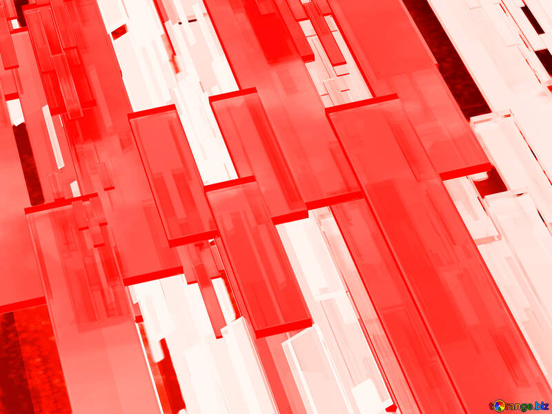 Creative 3d abstract squares lines modern red background №54512