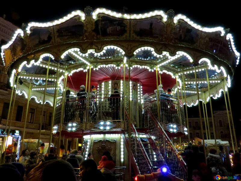 Merry go round Carousel №54099