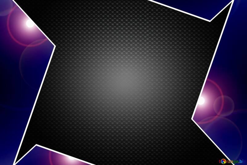 Blue carbon hi-tech template №54474