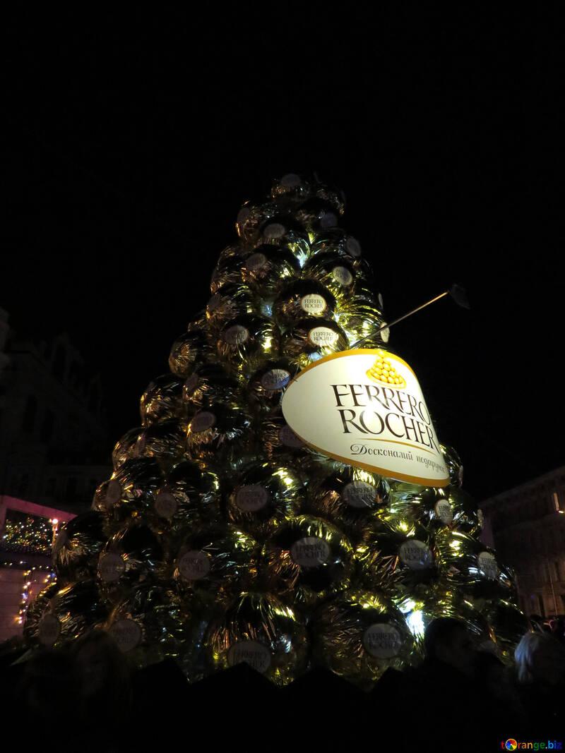 Chocolate tree Ferrero Roche №54101