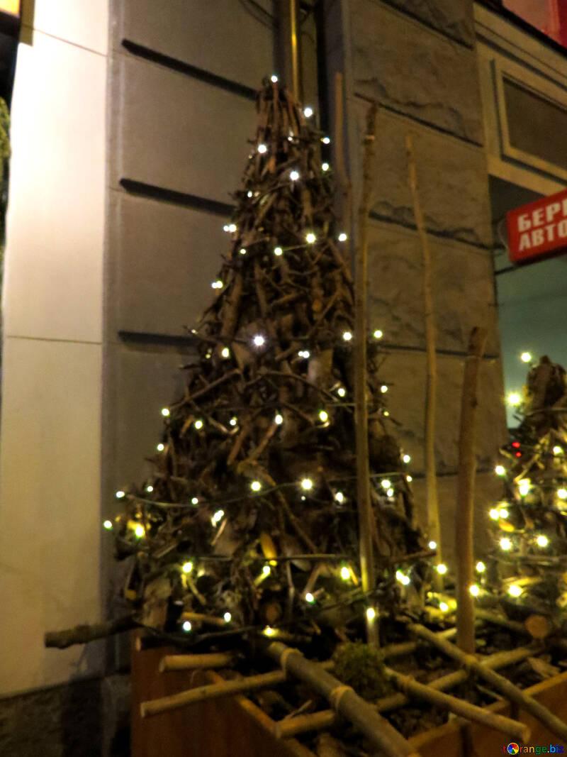 Christmas tree lights №54047