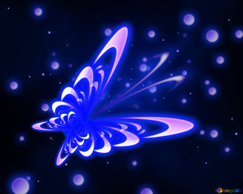 Space butterfly №54915