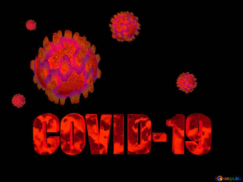 Covid-19 Coronavirus dark background №54733
