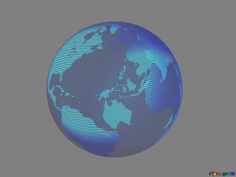 Modern global world earth concept planet symbol dark №54516